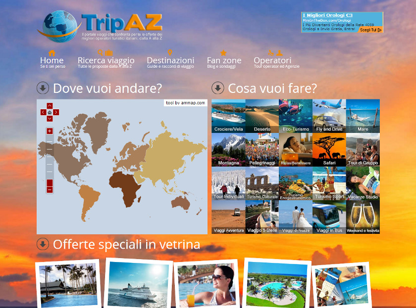 TripAZ screenshot